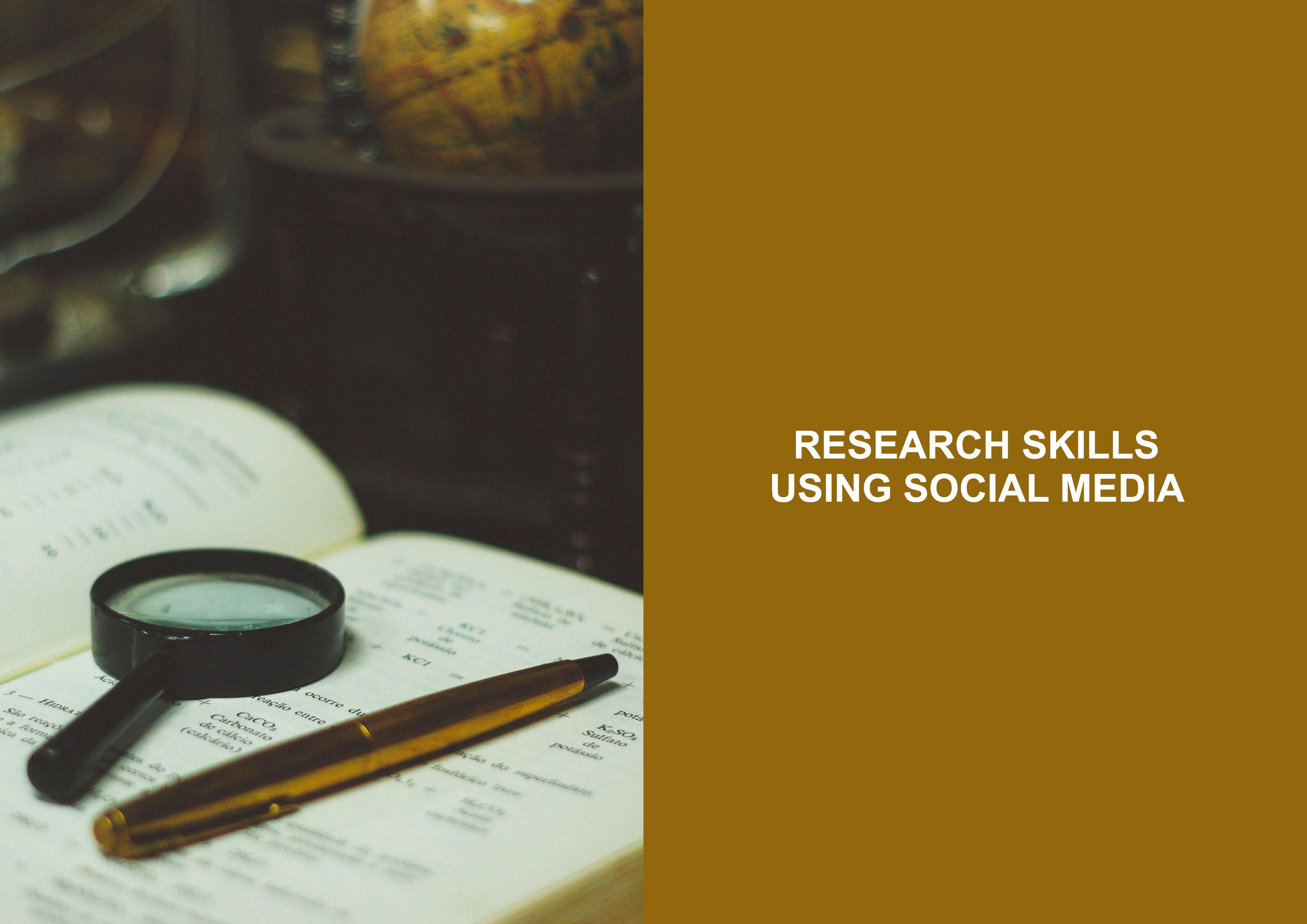 Research Skills Using Social Media