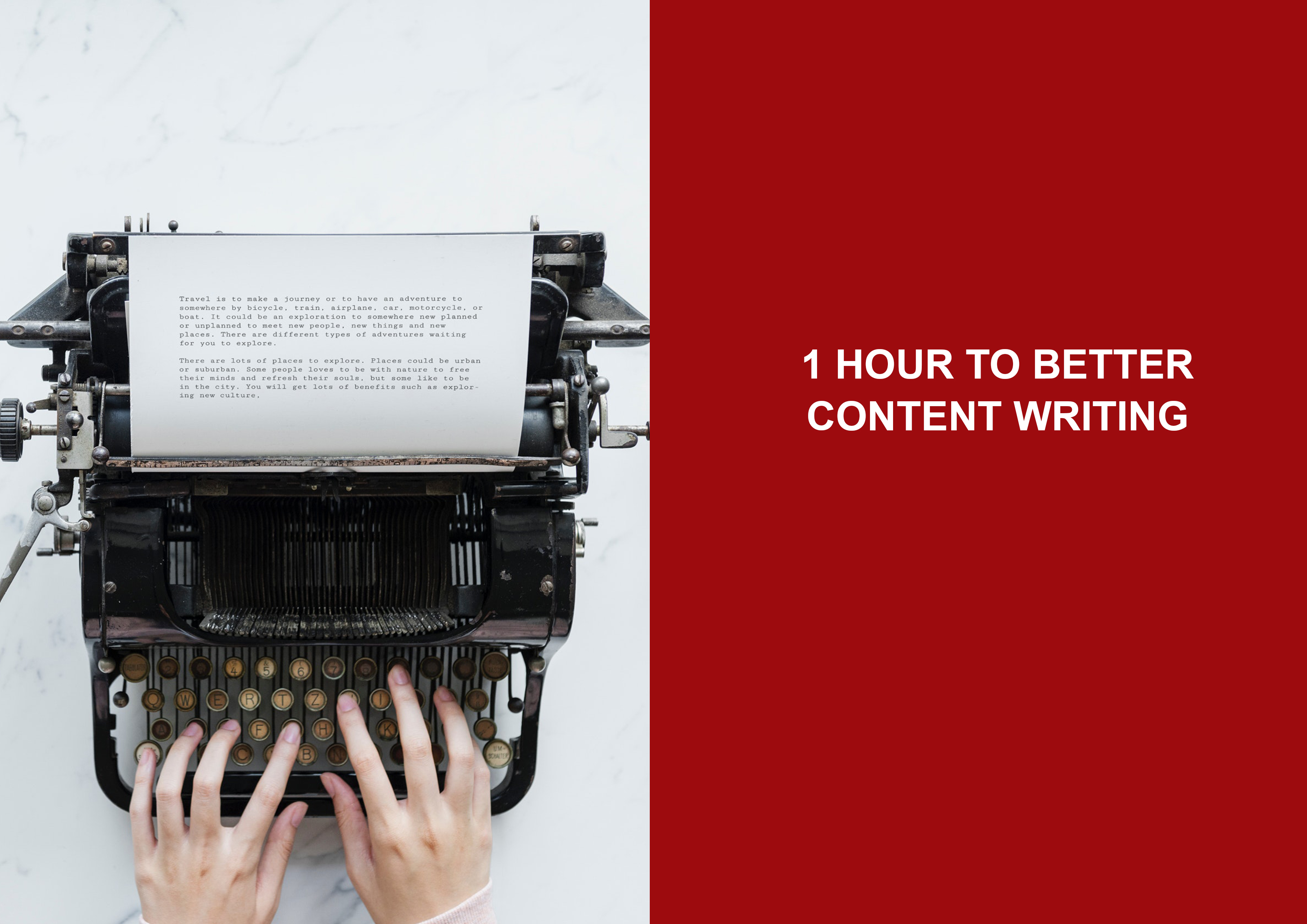 Better Content Writing