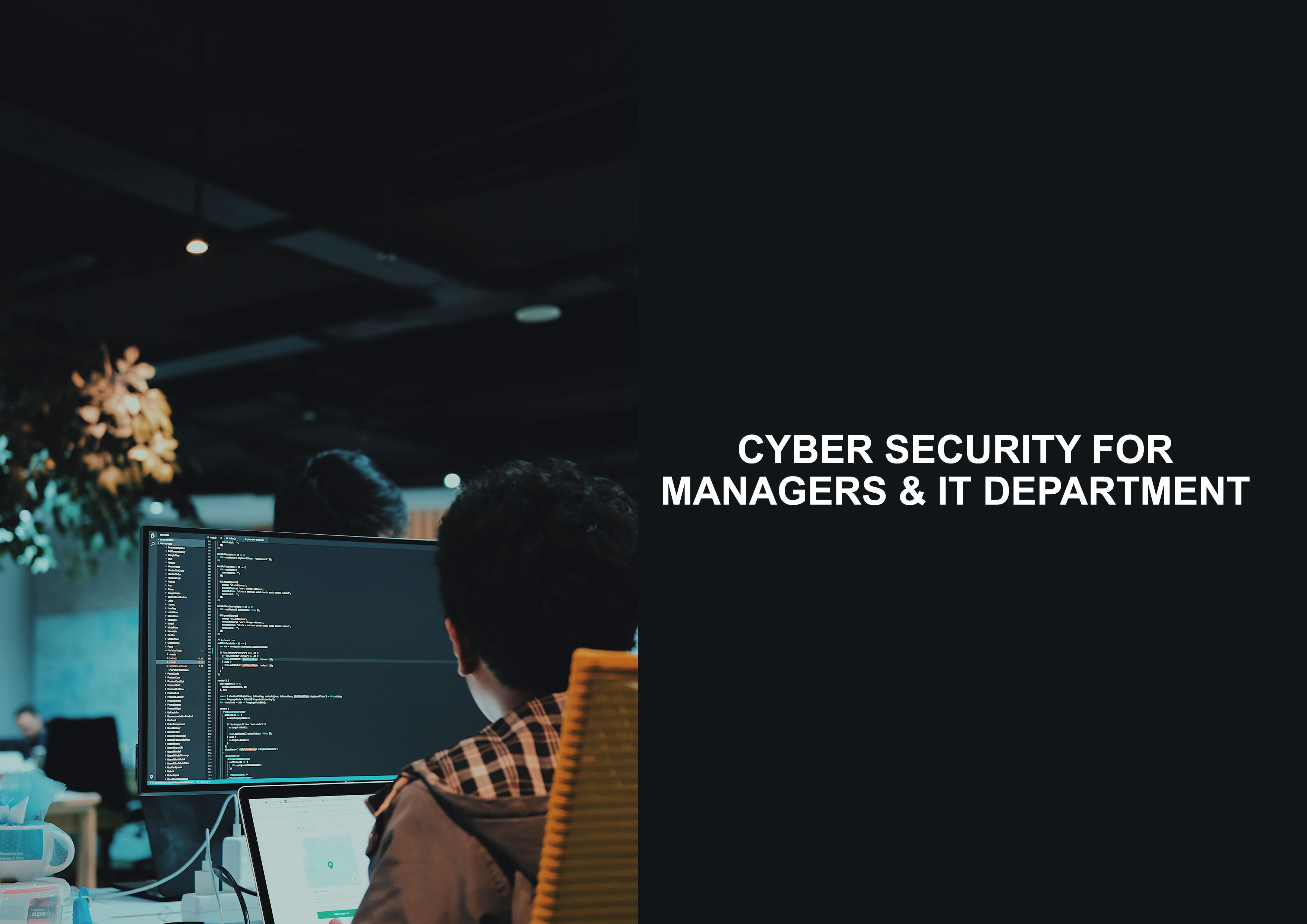 Cyber Security for Managers & IT Department